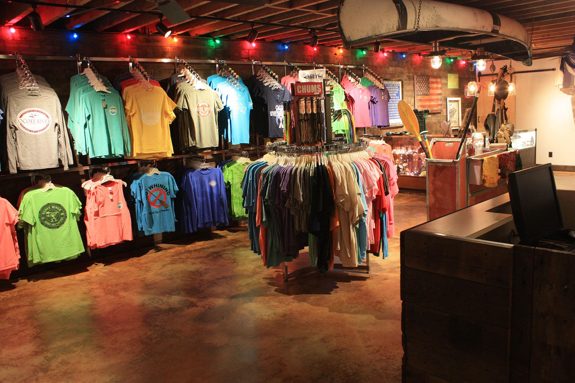 Raft Room Gift Shop
