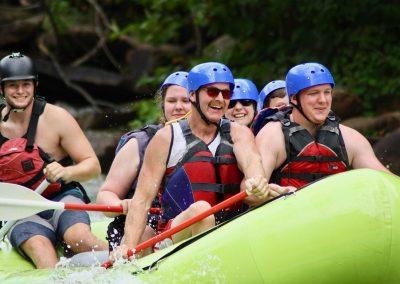 Whitewater rafting on the Ocoee River with Ocoee Inn Rafting