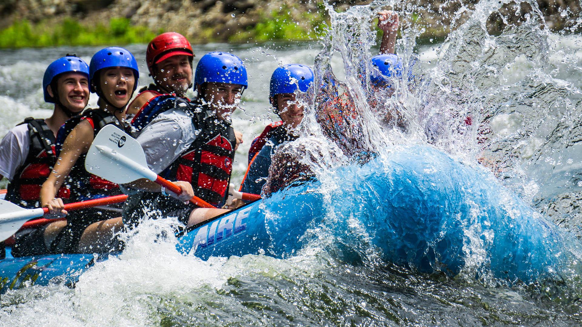 Ocoee Inn Whitewater Rafting Splash